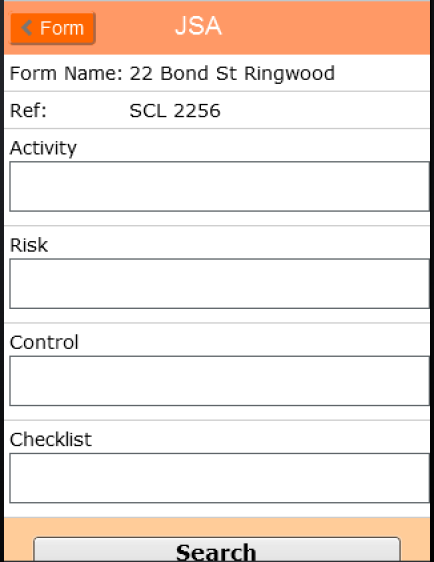 TM32 Compliance Risk Templates Learning Tools AroFlo – Jsa Form Template