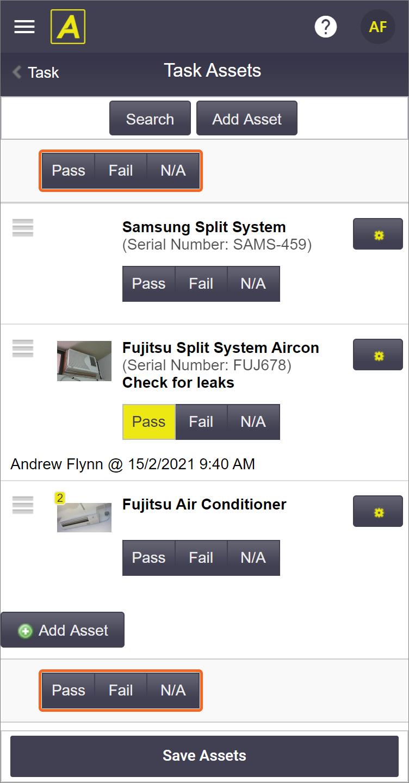 Multi Update assets