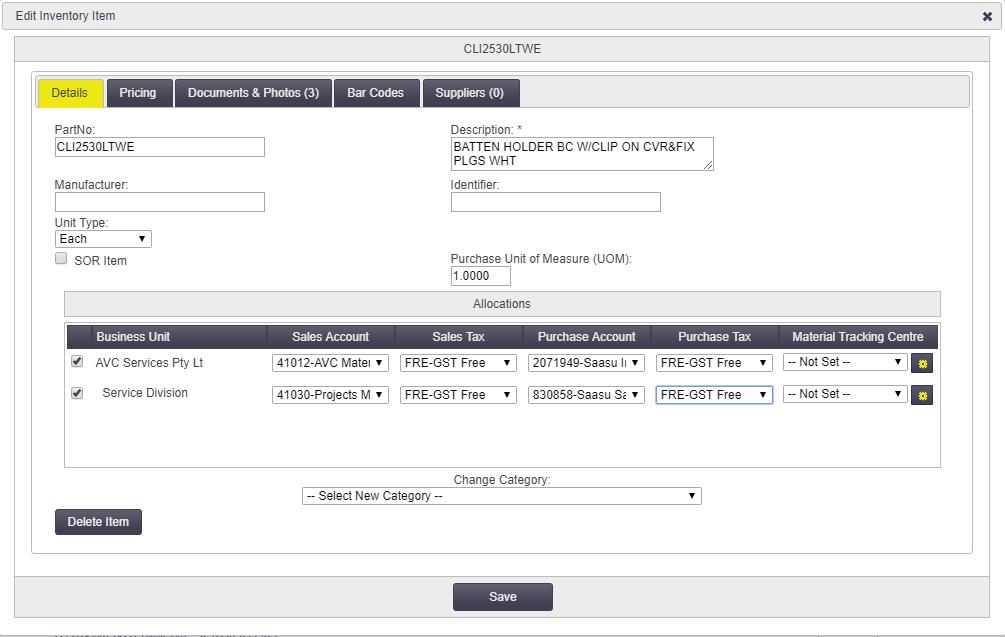 Allocations - Office Documentation - AroFlo Documentation